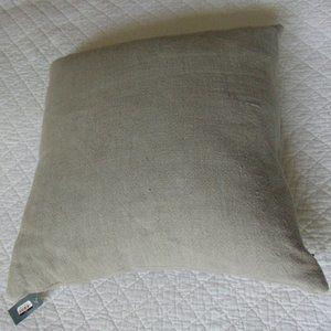 TRESHOLD Decorative Pillow 100% Linen Grey